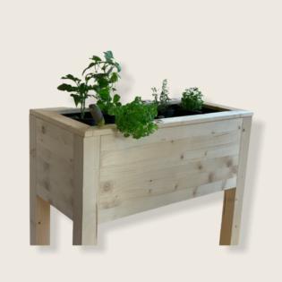 Jardiniere din lemn